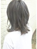 ヘアスペース エコ(Hair Space Eco)ハイライトグレージュカラー