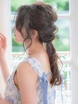 【AUBE HAIR】ローポニーカジュアルアレンジ