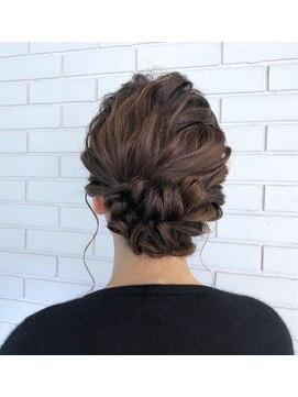 パーティーヘアアレンジ L029377921 ヘアーズルーム 風 Hair S Room