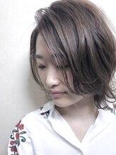 ヘアードゥ レディバグ(HAIR DO LADY BUG)【透明感】大人ボブ グレーアッシュ