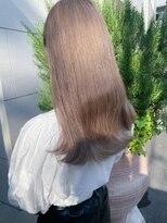 サロンドミルク 原宿(salon de MiLK)艶×シルキーグレージュ