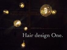 ヘアデザイン ワン(Hair design One.)の雰囲気(D.I.Y.LED電球15個温かみのあるインテリア照明)