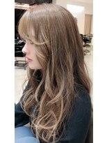 ベイジヘアークチュール(BEIGE hair couture)ベージュカラー スーパーロング