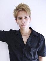アルバム シンジュク(ALBUM SHINJUKU)ワイルドアップバングラフアンニュイモヒカンショート_75767