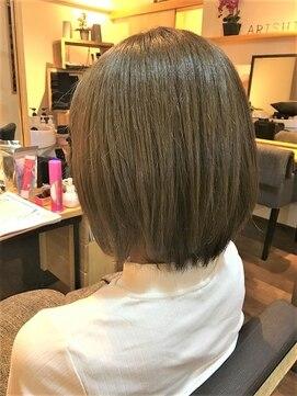 アリシアヘアー(ARISHIA hair)ネイビーセピアッシュボブ☆【ARISHIA hair 那珂】