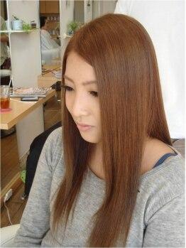 フルールスリジェ(fleur cerisier)の写真/ナチュラルストレートを叶える縮毛矯正¥12960→¥9288(カット込)☆通いやすい2回目以降も使えるクーポンも有
