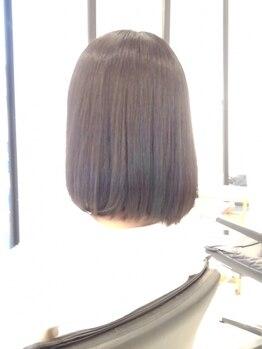 ララジェノワーズの写真/【白髪染め+カット¥7500~】徹底的なダメージレスで髪をより綺麗に&魅力的に…♪おしゃれ染めもプチプラ☆