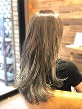 ヘアーサロン ミル(hair salon MiL)ハイライト×グラデーショングレージュ