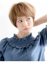 ベビーバングゆるふわコンパクトショートボブ【Linona /リノナ】