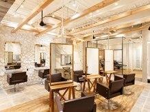 オーブ ヘアー ルシア 綱島店(AUBE hair lucia)の雰囲気(こだわりの空間で長時間の施術もゆったり寛いで過ごせます。綱島)
