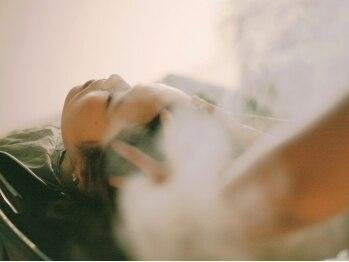 """ミュゼラディックス(musee Ra-dix)の写真/幅色い支持を集めるRa-dixの""""ゆったり癒し""""ケアスパ★髪が潤いサラサラになり根元からふんわりやわらかに♪"""