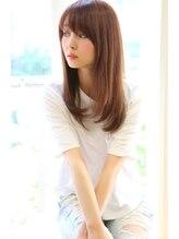 ヘアーブランド リンク 三宮店(HAIR BRAND Link)【Link】真夏の質感矯正ストレートヘア