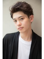 モッズ ヘア 海浜幕張店(mod's hair)アップバングショート
