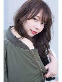 ココモ(KOKOMO)【お客様支持率no.1】ネイビーアッシュで大人女子な透明感。