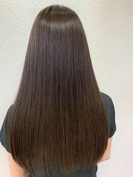 ラバフロー 彩都店(LAVA FLOW)の写真/生活のあらゆる場面から髪を守る!!髪のハリコシUP☆キューティクルの毛羽立ちを感じない理想のツヤ髪に♪