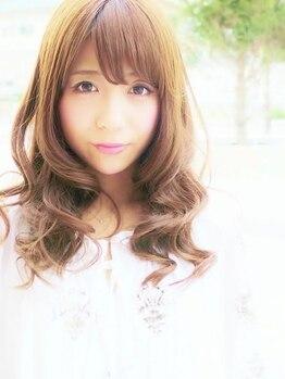 ヘアーサロンアンドビューティー ロア(Hair salon&Beauty LOA)の写真/ドライカットで創るフェミニンなトレンドスタイル☆ツヤ感&再現性バッチリ♪デザインカット☆ ¥3780!