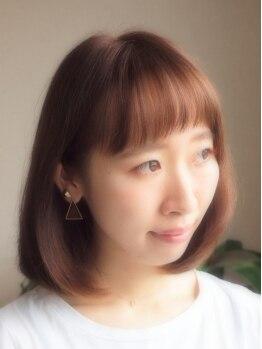 チルアウト(Chill out)の写真/【金山駅3分】キレイな発色×色持ちなのにダメージレス♪経験の差で、他店では体感できない仕上がりに。
