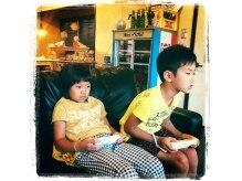ジース(JY'S)の雰囲気(JY'Sの待合!子供達が何時間でも待っていられる不思議な空間。)