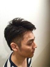 ヘアーデザインスペース リプル(hair design space Ripple)ミディアムツーブロック