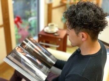 美容室 グラン ブルーの写真/メンズ比率が高い当店だからこそできる大人のモテ髪カット!