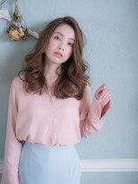 オーブ ヘアー フィオーレ 京都桂店(AUBE HAIR fiore)巻き髪風♪上品ヘア