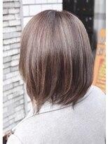 ヘアーデザイン キャンパス(hair design Campus)ハイライトMIX☆ナチュラルアッシュベージュ