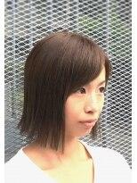 ティースタイル(hair salon t-style)切りっぱなしボブ