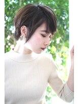 ヘアーアンドメイク フォルス(HAIR&MAKE FORS)【FORS】西田ゆか おとな女性*ノーブルショート