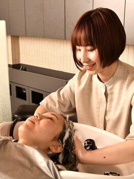 トップヘアーラウンジ 知立(TOP HAIR Lounge)の写真/【グローバルミルボン使用!】あなたのお悩みに合わせてしっかり選定!頭皮から美髪に導きます♪