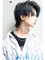 リップスヘアー 梅田アネックス(LIPPS hair)アップバングウルフ