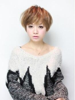 ブライヘアー(BURAI hair)の写真/【コラーゲンTR付♪潤いハーブカラー+カット+2ステップTR¥6000】女子力高まる艶髪カラーを叶えます☆