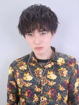 アルバム シンジュク(ALBUM SHINJUKU)ツイストパーマコンマヘアかき上げヘア_25159
