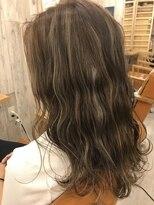 ロア ヘアーコーディネイト 烏丸店(LoRE hair coordinate)ハイライトカラーアッシュグレー