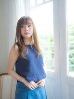 オーブ ヘアー アオヤマ 青山店(AUBE HAIR AOYAMA)さらさら愛され夏のストレートロング♪