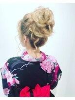 ヘアーリゾートラシックアールプラス(hair resort lachiq R+)《R+》浴衣☆ヘアアレンジ☆ロング