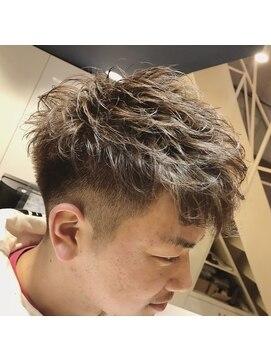 ラ カスタ ヘアスタイリスト クラブ(La CASTA hair stylist club)ソフトフェードスタイル
