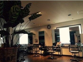 リーフ(Leaf)の写真/【武蔵浦和徒歩1分/髪質改善】大人女性の悩み改善♪綺麗な店内とホッとできる空間であなたの理想のStyleに!