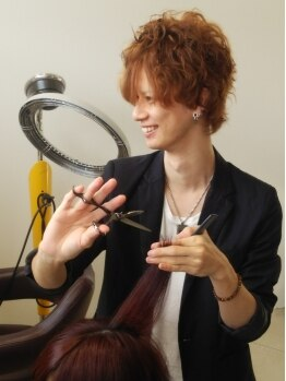 レゴリス プレミア ヘアー(REGOLITH PREMIER HAIR)の写真/[担当 木戸口指名]ヘアケアマイスターの資格を取得!!丁寧なカウンセリングで最旬カラーをお届けします♪