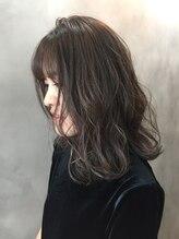 オーストヘアーベンヌ(Aust hair Bennu)ラベンダーアッシュ♪フラットボブ