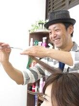 ヘアーアンドメイク ルシア モブ(hair and make LuciA mob)秋吉 康太郎