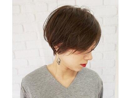 クープヘア(Coupe hair)の写真