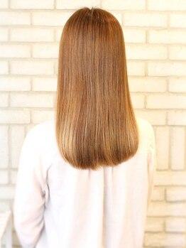 ファルコヘア 練馬店(FALCO hair)の写真/うねり/ダメージ/乾燥…あなたのくせ毛の悩みは?ダメージレス+艶感UP☆思わず触れたくなるような美髪に!!