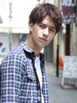 アルバム シンジュク(ALBUM SHINJUKU)ソフトツーブロックザーマッシュトランクスヘア_55668