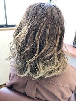 リスキーズ(RISKY'S)の写真/髪と頭皮にやさしい高品質『ハーブカラー』が人気☆あなたをもっと魅力的にするオリジナルカラーをご提案♪