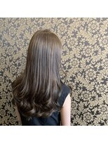 ヘアー コパイン(HAIR COPAIN)透明感ばっちりアッシュグレージュ