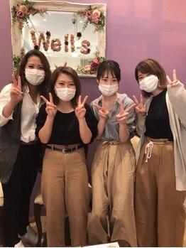 カットウェルズ ラブコオリヤマ 郡山店(Cut Well's Love Koriyama)の写真/【郡山】女性スタイリスト多数在籍♪髪の悩みもデザインの相談も女性目線で寄り添いながらアドバイス☆