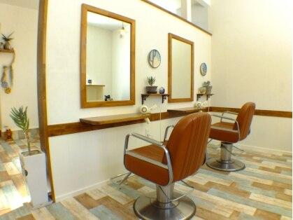 グラッシー ヘア ルーム(Glassy hair room)の写真