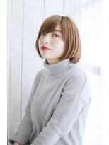 リゾートサロンM 新宿東口(Resortsalon M by valore)Resortsalon M【新宿東口店】おろし流し前髪のナチュラルボブ
