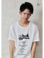 メンズヘアースパイス ユメサキ(Men's Hair SPICE -yumesaki-)ソフトアップバングショート