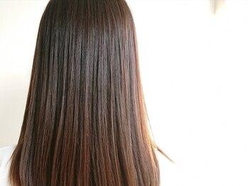 クシェルヘア(kuschel hair)の写真/【北山】今までとは一味違う縮毛矯正。<kuschel hair>でナチュラルなストレートヘアが実現できる◎